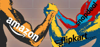 Flipkart vs Amazon vs Snapdeal